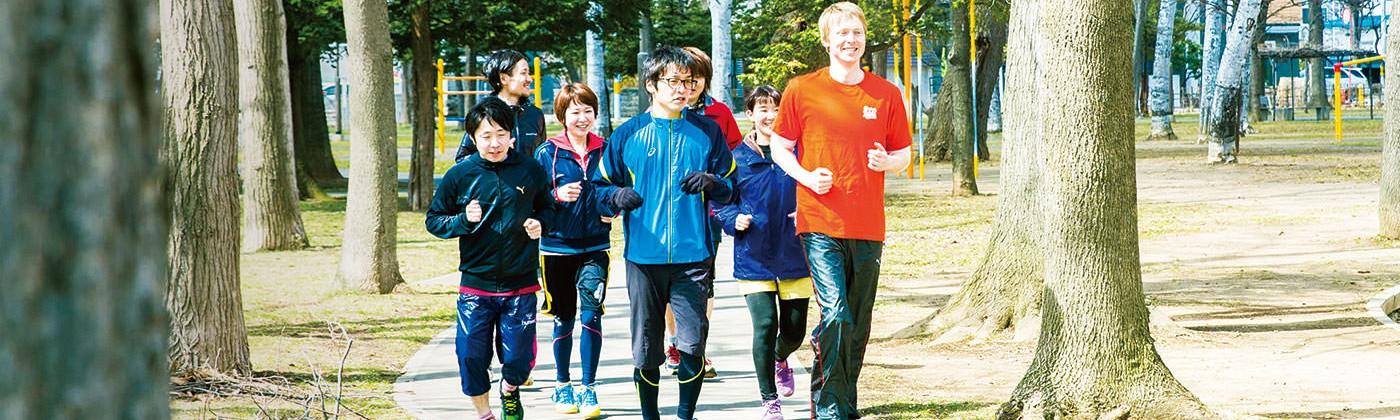running team  EZOSHIKA