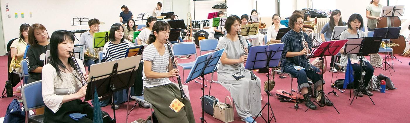札幌 mommy's ブラス 子どもを持つママたちで 結成された吹奏楽団