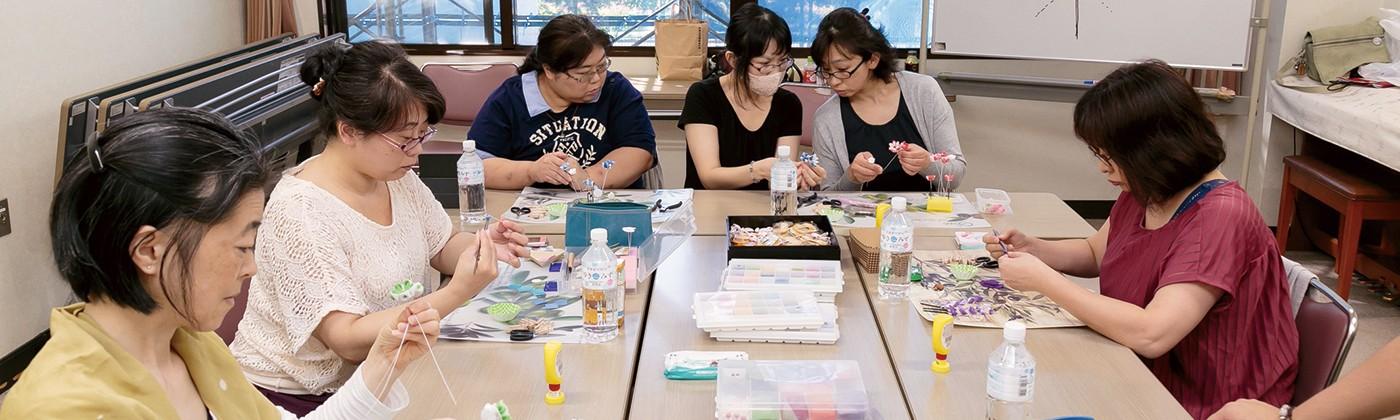 現代 つまみ細工 漣-Ren- 日本の伝統工芸<br>「つまみ細工」で 親子で楽しめる場を