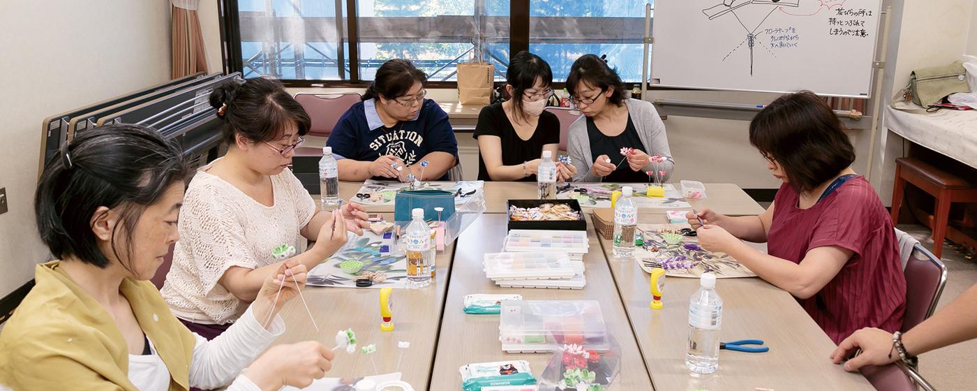 現代 つまみ細工 漣-Ren- 日本の伝統工芸<br />「つまみ細工」で 親子で楽しめる場を